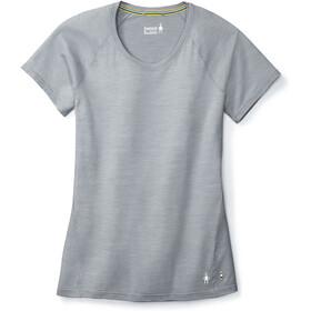 Smartwool Merino 150 Baselayer Pattern T-shirt Damer, dark pebble gray